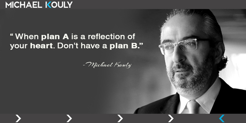 Michaelkouly quotes planA reflection heart PlanB