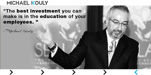 Michaelkouly quotes best investment make education employees