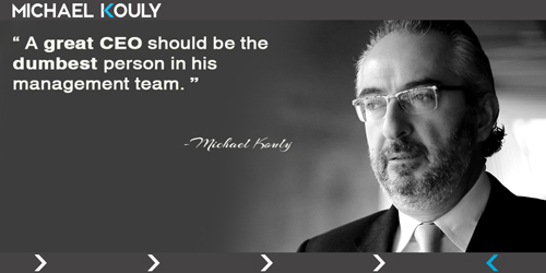 Michaelkouly quotes great CEO dumbest management team