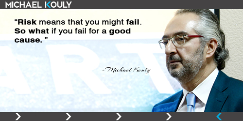 57 Michaelkouly quotes risk might fail good cause