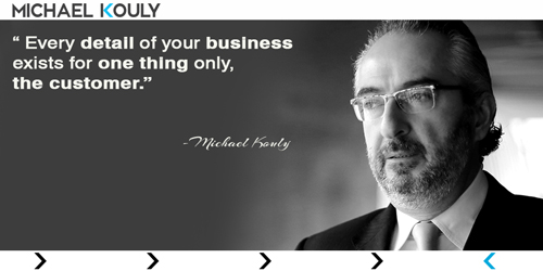 Michaelkouly quotes detail business  purpose Strategy customer