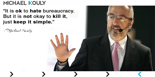 Michaelkouly quotes  bureaucracy simple hate kill