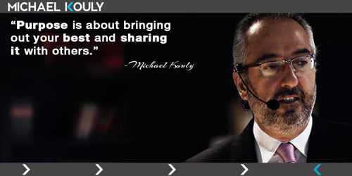 Michaelkouly quotes  purpose your best sharing others
