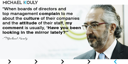 Michaelkouly quotes ceos complain culture companies look mirror